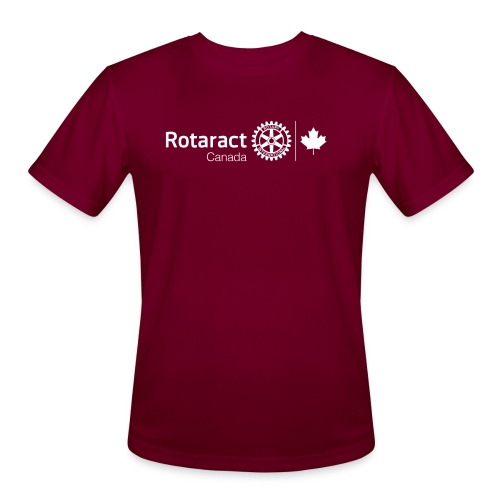 Rotaractor At Work - White - Men's Moisture Wicking Performance T-Shirt