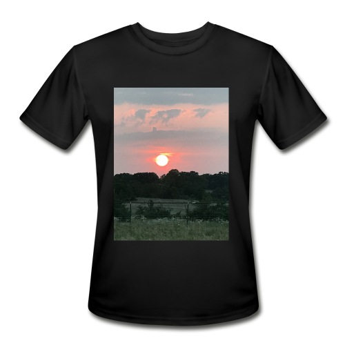 Nature Sunset - Men's Moisture Wicking Performance T-Shirt