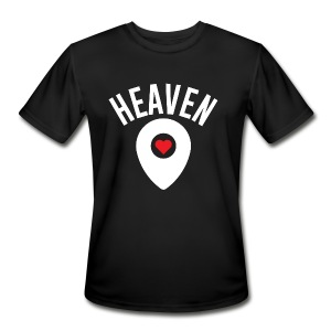 Heaven Is Right Here - Men's Moisture Wicking Performance T-Shirt