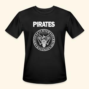 Punk Rock Pirates [heroes] - Men's Moisture Wicking Performance T-Shirt