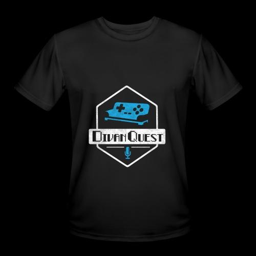 DivanQuest Logo (Badge) - Men's Moisture Wicking Performance T-Shirt