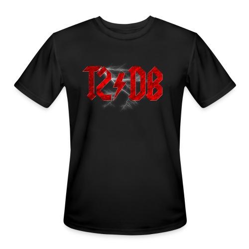 T2/DB AC/DC Style - Men's Moisture Wicking Performance T-Shirt