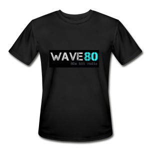 Main Logo - Men's Moisture Wicking Performance T-Shirt