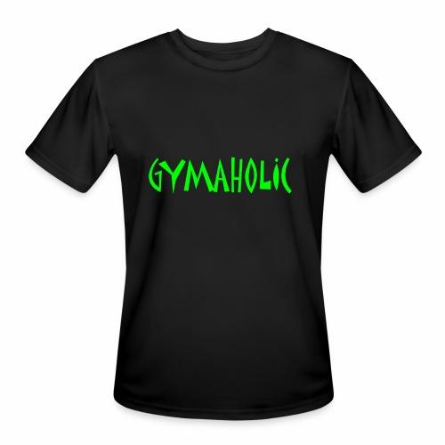 GYMAHOLIC - Men's Moisture Wicking Performance T-Shirt