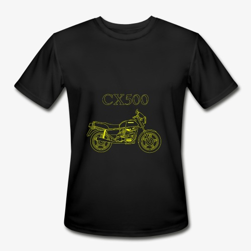 CX500 line drawing - Men's Moisture Wicking Performance T-Shirt