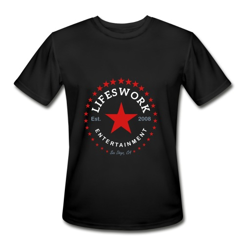 Lifeswork Entertainment - Men's Moisture Wicking Performance T-Shirt