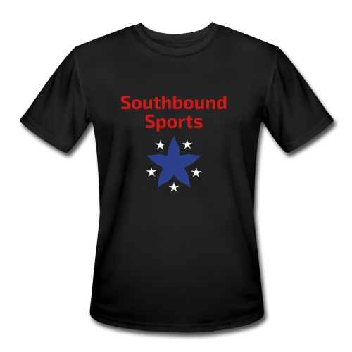 Southbound Sports Stars Logo - Men's Moisture Wicking Performance T-Shirt