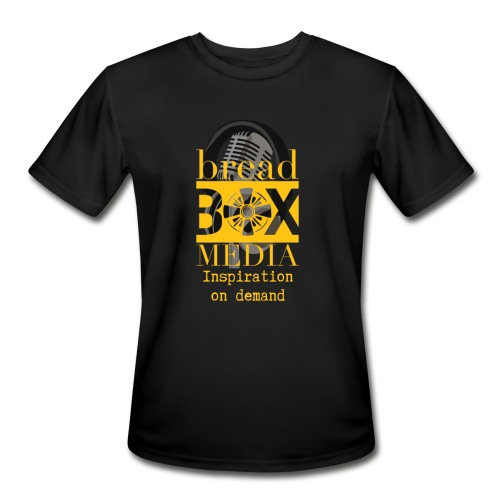Breadbox Media - Inspiration on demand - Men's Moisture Wicking Performance T-Shirt