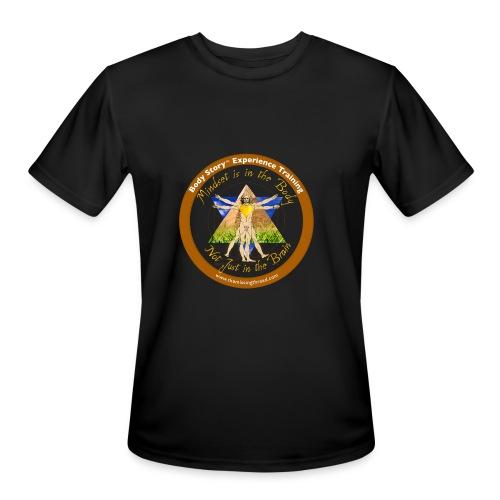 Mindset is the body t-shirt - Men's Moisture Wicking Performance T-Shirt