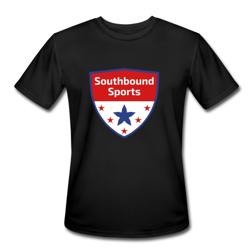 Southbound Sports Crest Logo - Men's Moisture Wicking Performance T-Shirt