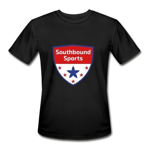 Southbound Sports Crest Logo - Men's Moisture Wicking Performance T-Shirt
