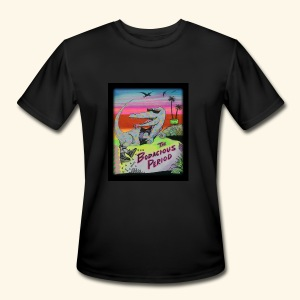 That's our Dino - Men's Moisture Wicking Performance T-Shirt