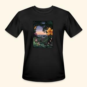 Backyard View - Men's Moisture Wicking Performance T-Shirt