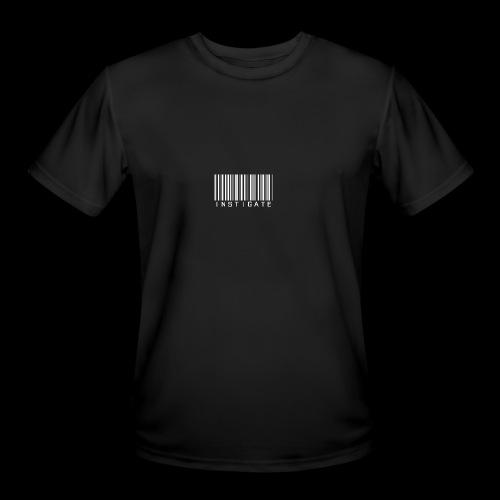 Instigate barcode - Men's Moisture Wicking Performance T-Shirt