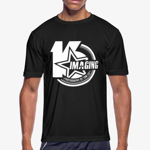 16 Badge White - Men's Moisture Wicking Performance T-Shirt