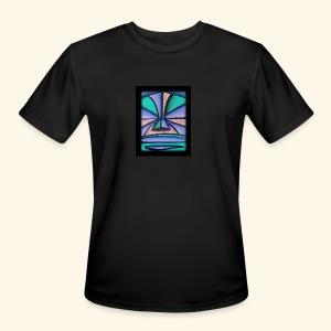 Pastel Tiki - Men's Moisture Wicking Performance T-Shirt