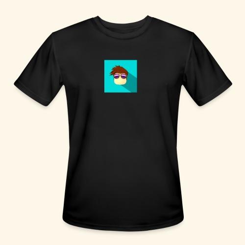 NixVidz Youtube logo - Men's Moisture Wicking Performance T-Shirt