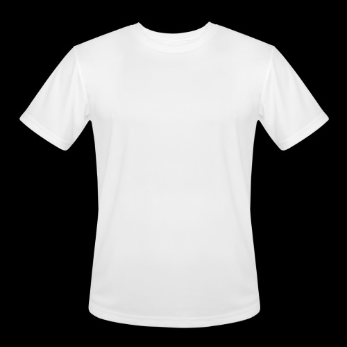 DREAM BANDITS WHITE Large Logo - Men's Moisture Wicking Performance T-Shirt