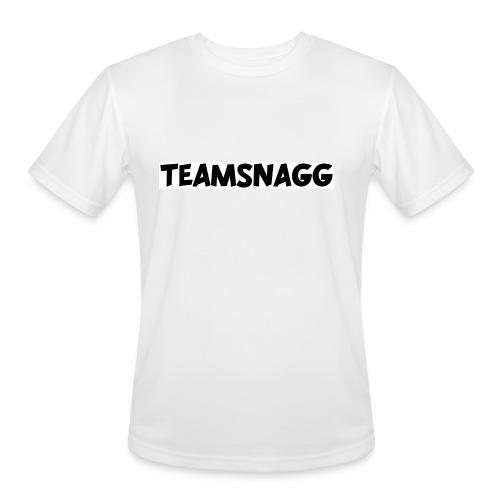 TeamSnagg Logo - Men's Moisture Wicking Performance T-Shirt