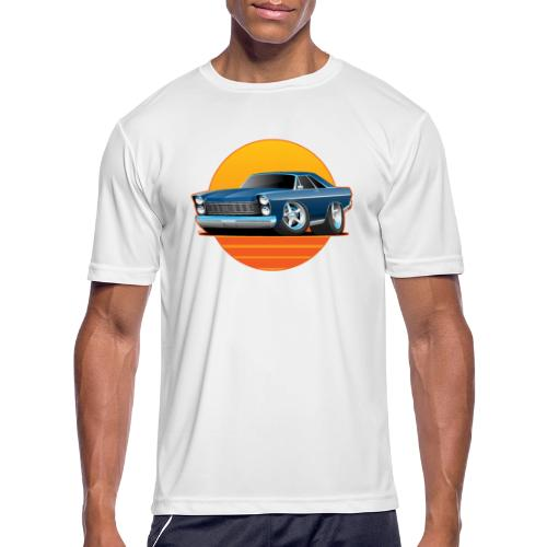 Classic Sixtes Big American Muscle Car - Men's Moisture Wicking Performance T-Shirt