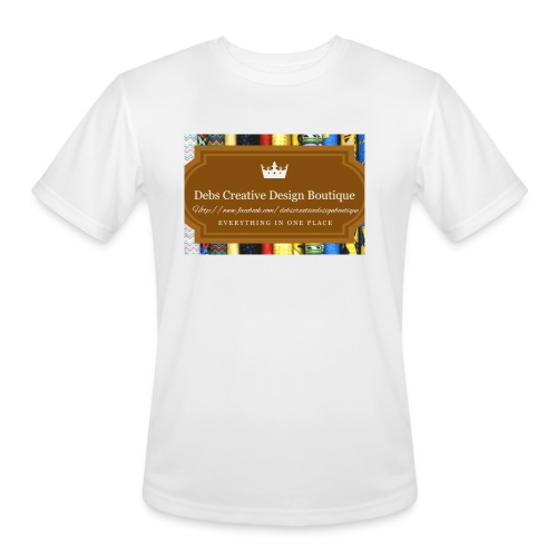 Debs Creative Design Boutique with site - Men's Moisture Wicking Performance T-Shirt