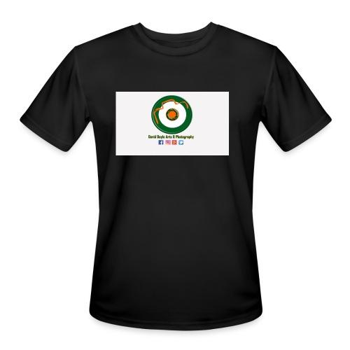 David Doyle Arts & Photography Logo - Men's Moisture Wicking Performance T-Shirt