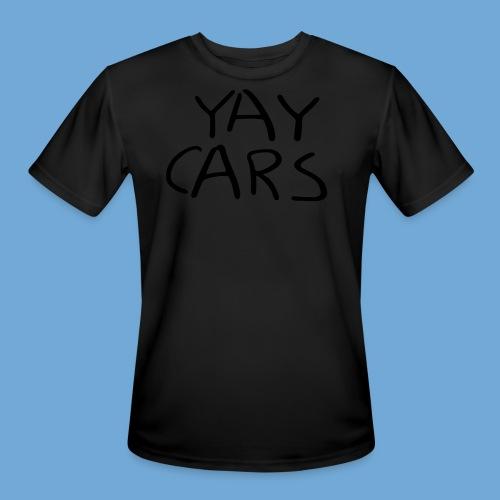 Yay cars. - Men's Moisture Wicking Performance T-Shirt