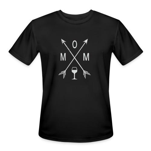 Mom Wine Time - Men's Moisture Wicking Performance T-Shirt