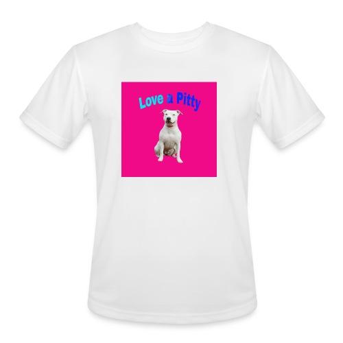 Pink Pit Bull - Men's Moisture Wicking Performance T-Shirt