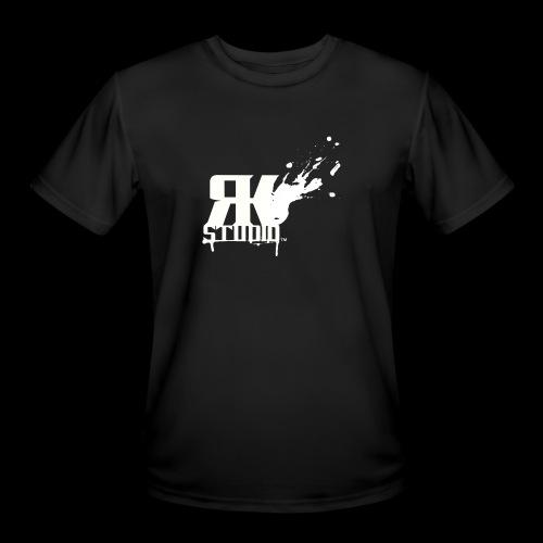 RKStudio White Logo Version - Men's Moisture Wicking Performance T-Shirt