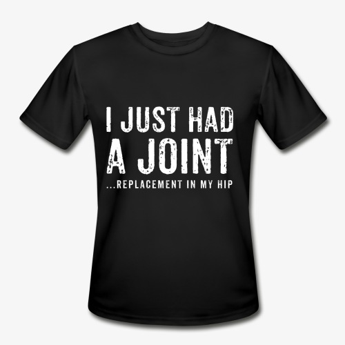 JOINT HIP REPLACEMENT FUNNY SHIRT - Men's Moisture Wicking Performance T-Shirt