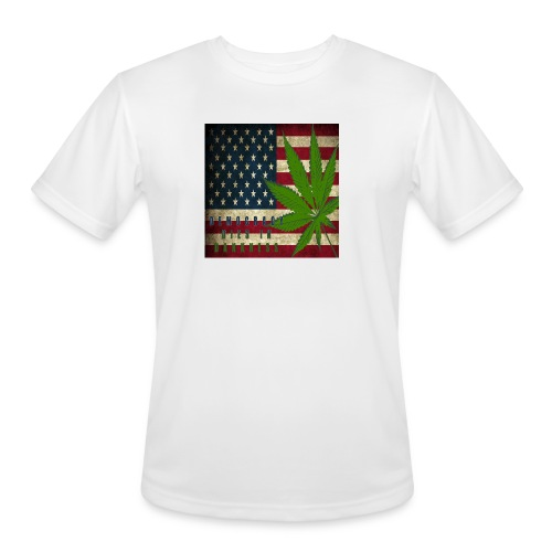 Political humor - Men's Moisture Wicking Performance T-Shirt