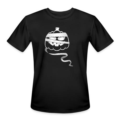 Halloween Bandaged Pumpkin - Men's Moisture Wicking Performance T-Shirt