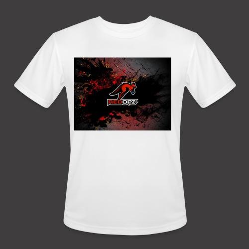 RedOpz Splatter - Men's Moisture Wicking Performance T-Shirt