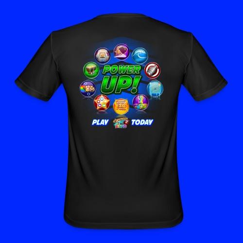 Vintage Cannonball Bingo Power-Up Tee - Men's Moisture Wicking Performance T-Shirt