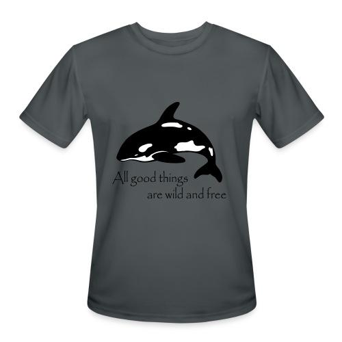 End Captivity - Men's Moisture Wicking Performance T-Shirt