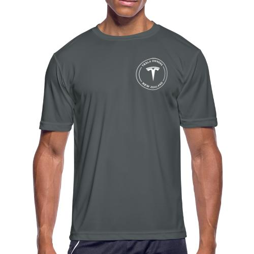 Tesla Owners Club NZ Knockout Range - Men's Moisture Wicking Performance T-Shirt