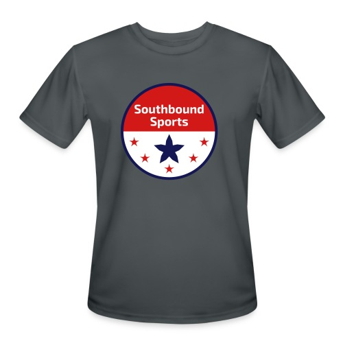 Southbound Sports Round Logo - Men's Moisture Wicking Performance T-Shirt