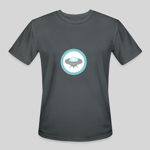ALIENS WITH WIGS - Small UFO - Men's Moisture Wicking Performance T-Shirt