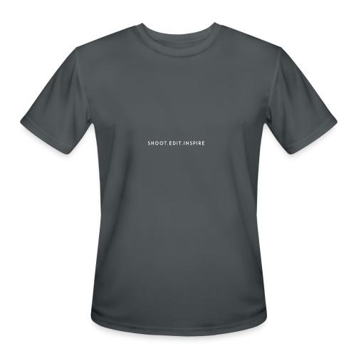 shoot edit inspire large - Men's Moisture Wicking Performance T-Shirt