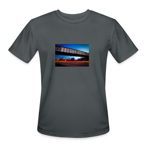 Husttle City Bridge - Men's Moisture Wicking Performance T-Shirt
