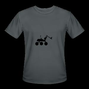 USST Rover Black - Men's Moisture Wicking Performance T-Shirt