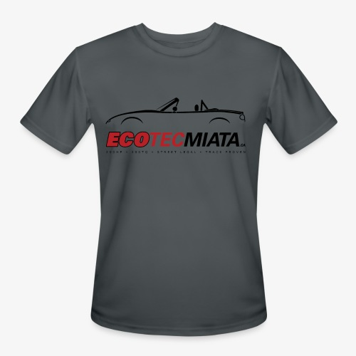 Ecotec Miata Logo - Men's Moisture Wicking Performance T-Shirt