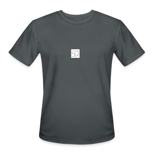 Smokey Quartz SQ T-shirt - Men's Moisture Wicking Performance T-Shirt
