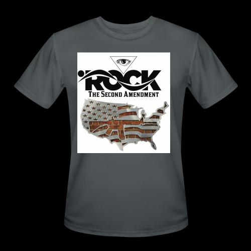 Eye Rock the 2nd design - Men's Moisture Wicking Performance T-Shirt