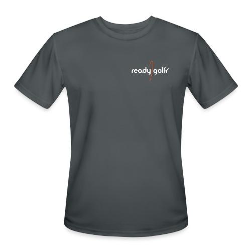 RG-logo-onblack-02b-lg - Men's Moisture Wicking Performance T-Shirt