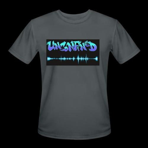 unconfined design1 - Men's Moisture Wicking Performance T-Shirt