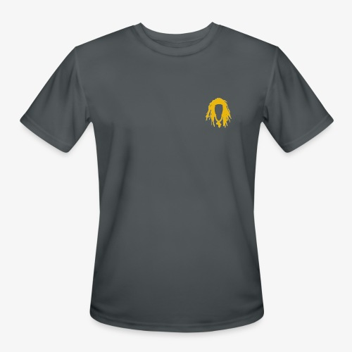 Gold logo - Men's Moisture Wicking Performance T-Shirt