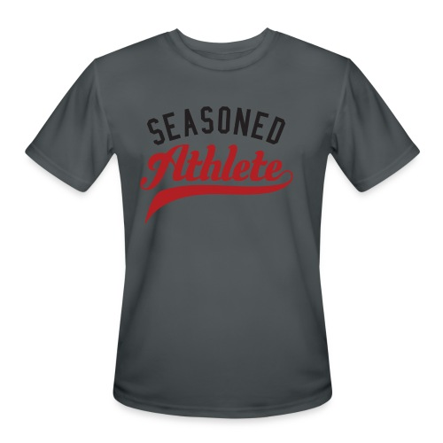 Seasoned Athlete - Men's Moisture Wicking Performance T-Shirt