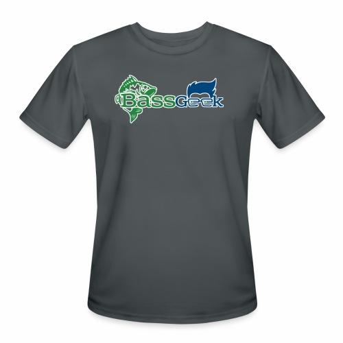 BassGeek Logo - Men's Moisture Wicking Performance T-Shirt
